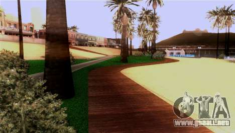 Nueva playa de Los Santos para GTA San Andreas quinta pantalla