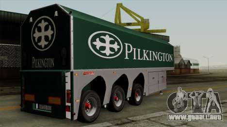 Trailer Glass v1 para GTA San Andreas left