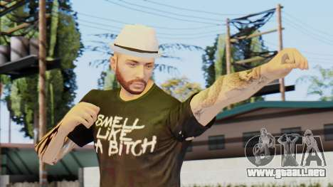 Personalized Skin from GTA Online para GTA San Andreas