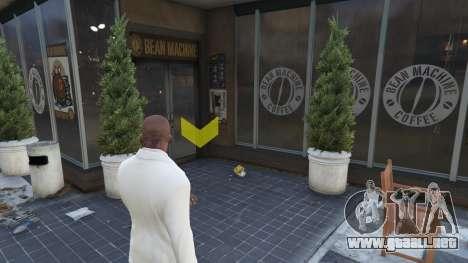 Tiendas de café en GTAV para GTA 5