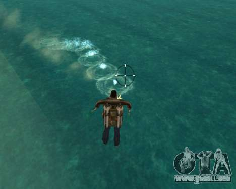 HQ Effects and Sun Final Version para GTA San Andreas sucesivamente de pantalla