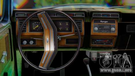 Ford F-150 1984 Final para visión interna GTA San Andreas