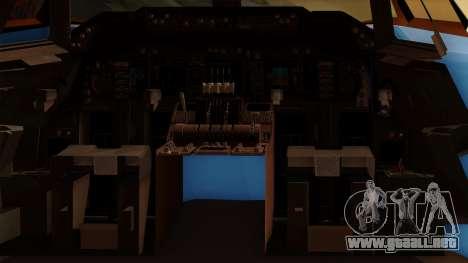 Boeing 747 Air Force One para visión interna GTA San Andreas