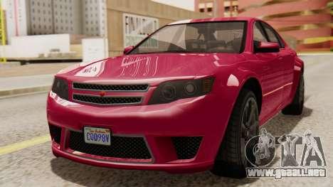 GTA 5 Cheval Fugitive para GTA San Andreas