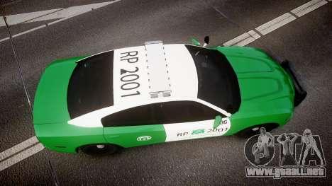Dodge Charger Carabineros de Chile [ELS] v2.0 para GTA 4 visión correcta