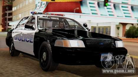 Police LS 2013 para GTA San Andreas