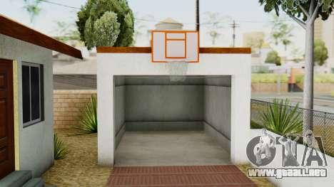 Big Smoke House para GTA San Andreas sucesivamente de pantalla