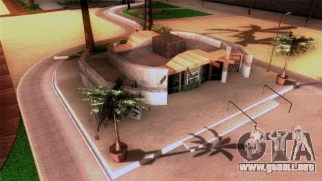 Nueva playa de Los Santos para GTA San Andreas sucesivamente de pantalla