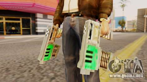 Warhammer Tec9 para GTA San Andreas tercera pantalla