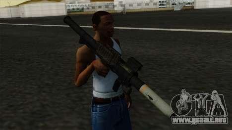 Homing Rocket Launcher para GTA San Andreas