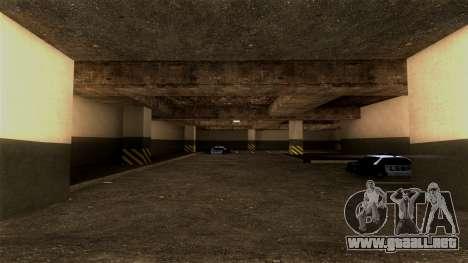 Nueva LSPD Aparcamiento para GTA San Andreas segunda pantalla