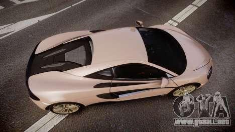 McLaren 570S 2015 rims1 para GTA 4 visión correcta