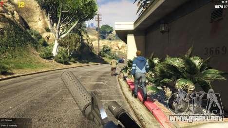 Gang wars 0.2 para GTA 5