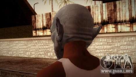 Vampiro para GTA San Andreas segunda pantalla