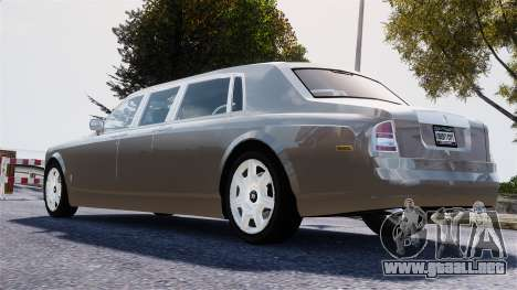 Rolls-Royce Phantom LWB para GTA 4 left