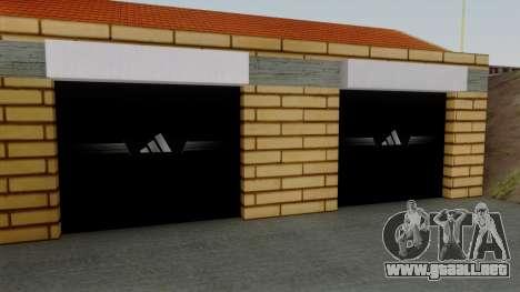 Nuevas texturas de el antiguo garaje de Doherty para GTA San Andreas tercera pantalla