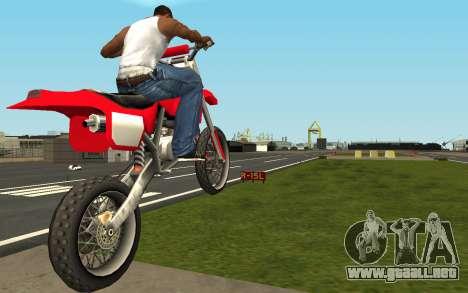 New Sky para GTA San Andreas segunda pantalla