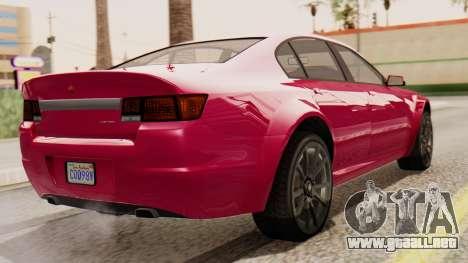 GTA 5 Cheval Fugitive para GTA San Andreas left