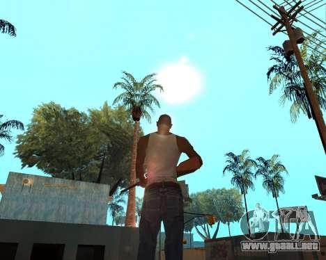HQ Effects and Sun Final Version para GTA San Andreas segunda pantalla