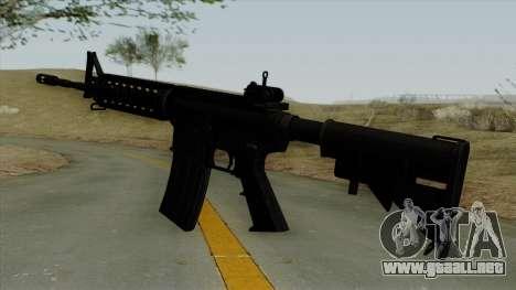 AR-15 Ironsight para GTA San Andreas segunda pantalla