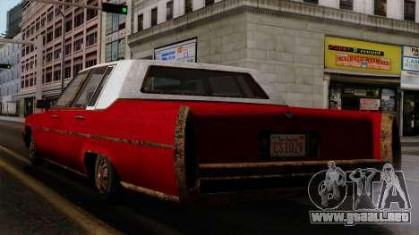 GTA 5 Albany Emperor Worn IVF para GTA San Andreas left