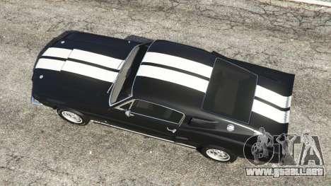 Ford Mustang GT500 1967 para GTA 5