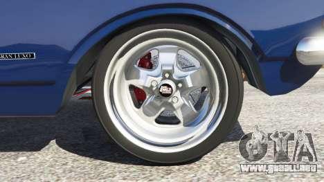 GTA 5 Chevrolet Opala Gran Luxo vista lateral trasera derecha