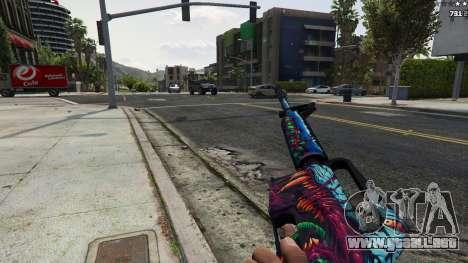 GTA 5 Hyper Beast Edition: M4A1-S sexta captura de pantalla