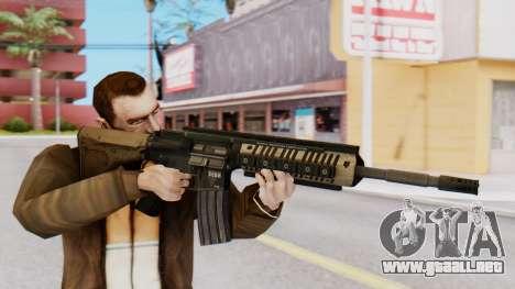 M4A1 Magpul para GTA San Andreas tercera pantalla