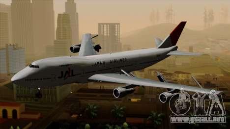 Boeing 747 JAL para GTA San Andreas