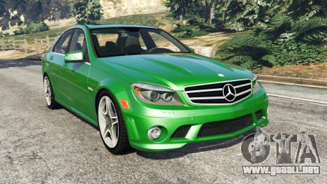Mercedes-Benz C63 (W204) AMG para GTA 5
