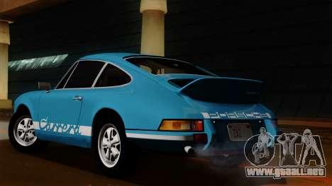 Porsche 911 Carrera RS 2.7 Sport (911) 1972 HQLM para GTA San Andreas vista hacia atrás
