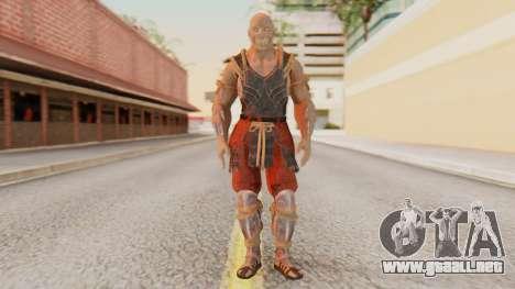 [MKX] Baraka para GTA San Andreas segunda pantalla
