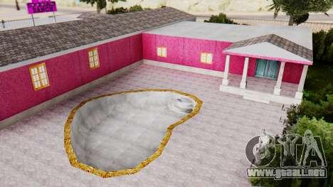 Nuevas texturas de el club en Las Venturas para GTA San Andreas quinta pantalla