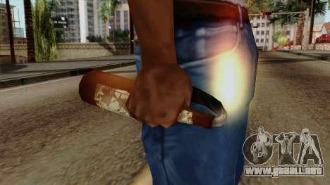 Original HD Molotov Cocktail para GTA San Andreas tercera pantalla