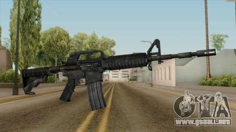 Original HD M4 para GTA San Andreas