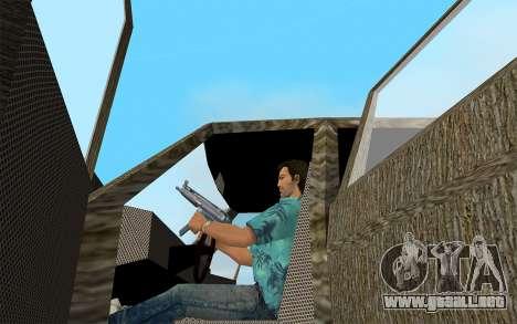 El Diseñador De La Serie - Almirante para GTA Vice City vista lateral izquierdo