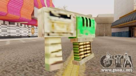 Warhammer Tec9 para GTA San Andreas segunda pantalla