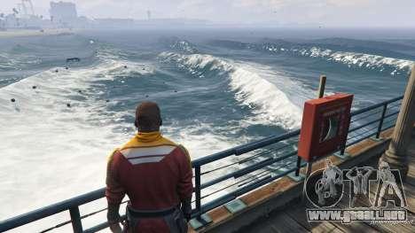 Grandes olas v1.1 para GTA 5