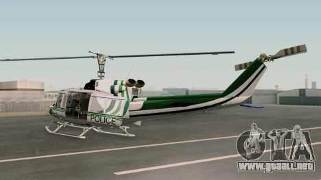 Bell UH-1N NAJA para GTA San Andreas left