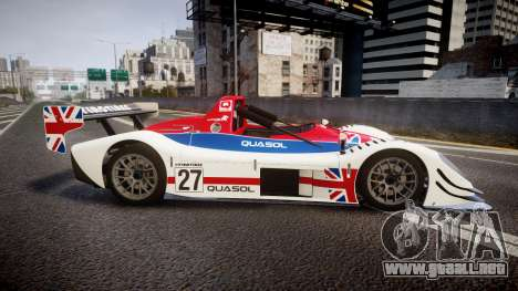 Radical SR8 RX 2011 [27] para GTA 4 left