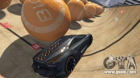 GTA 5 Race the balls v1.2 quinta captura de pantalla
