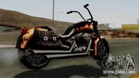Freeway Diablo para GTA San Andreas left