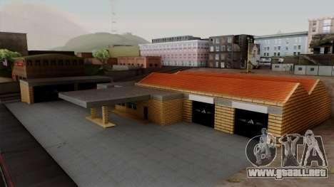 Nuevas texturas de el antiguo garaje de Doherty para GTA San Andreas
