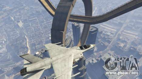 GTA 5 Maze Bank Loop The Loop cuarto captura de pantalla
