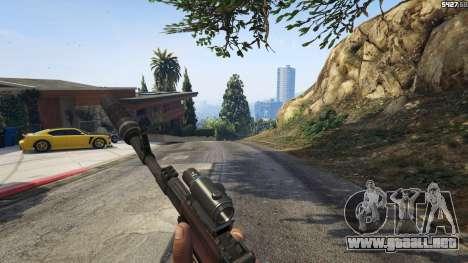 GTA 5 Battlefield 4 AK-12 cuarto captura de pantalla