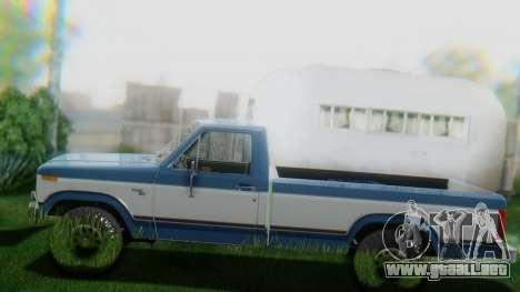 Ford F-150 1984 Final para vista lateral GTA San Andreas
