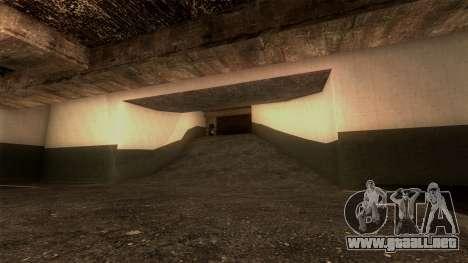 Nueva LSPD Aparcamiento para GTA San Andreas séptima pantalla