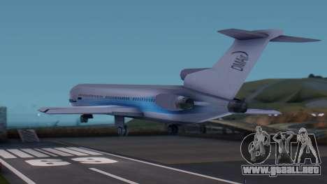 DMA Airtrain from GTA 3 v1.0 para GTA San Andreas left