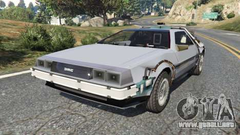 DeLorean DMC-12 Back To The Future v0.2 para GTA 5